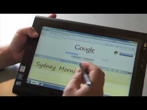 Handwriting recognition in Windows 8