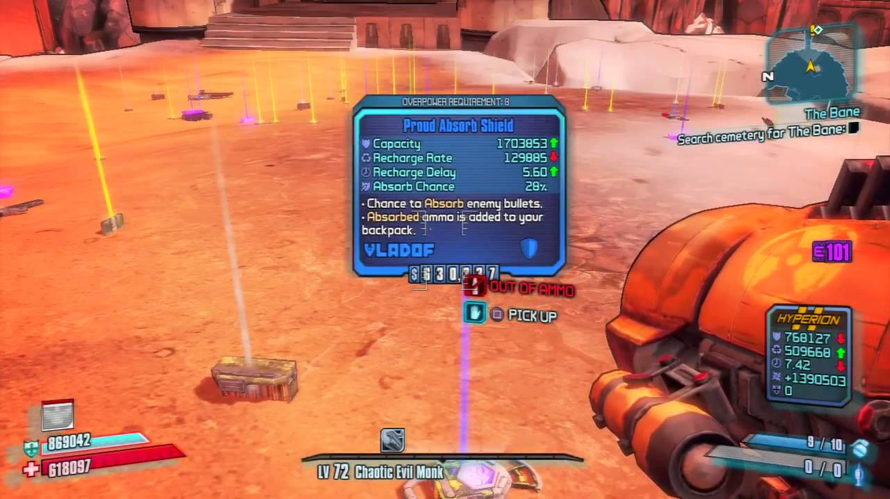 how to get overpower level in borderlands 3
