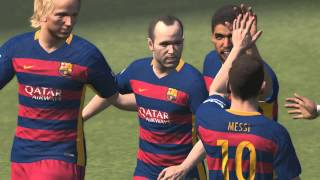 PES 2016 PC : Real Madrid vs FC Barcelona Intel HD Graphics Gameplay