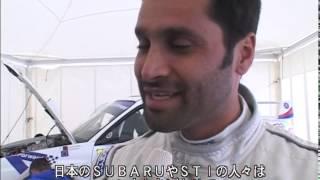 2007 PWRC SUBARU IMPREZA  driver comment (Nasser Sahel Al-Attiyah)