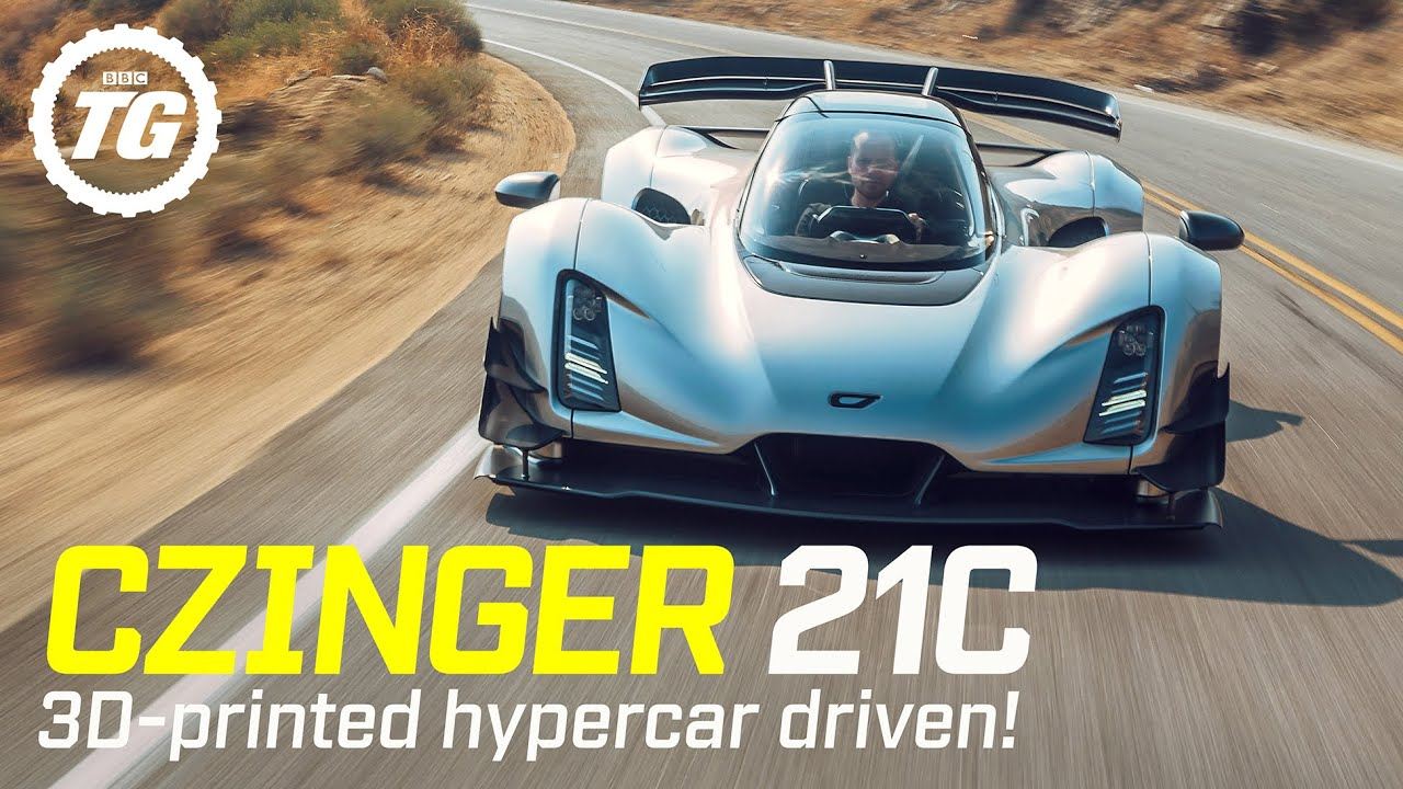Download World Exclusive! CZINGER 21C FIRST DRIVE: $2m, 1,233bhp 3D-printed hypercar   Top Gear