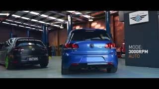 VW MK6 Golf GTI | Armytrix Système Echappement VALVETRONIC | moteurs sons & bruit!