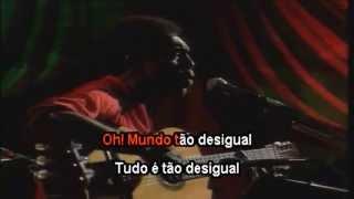 Gilberto Gil - A novidade - Karaoke