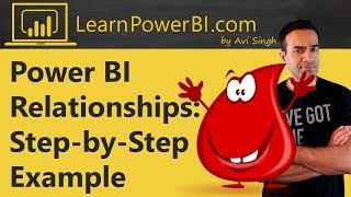 Power BI العلاقات: خطوة بخطوة سبيل المثال (قليلا متقدم)