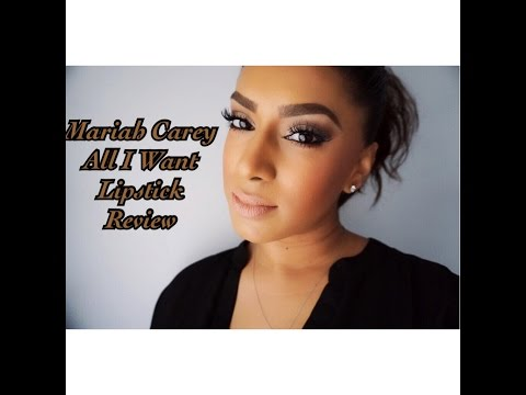Mariah Carey/Mac All I Want Lipstick Review