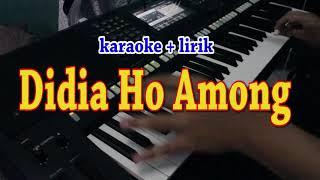 DIDIA HO AMONG [KARAOKE] THE HEART