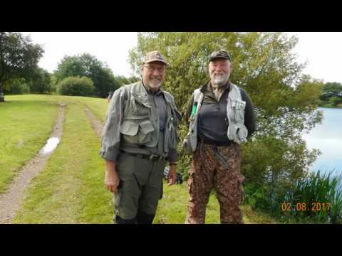 amigos try out kinross trout fisheries wed 2nd aug 2017