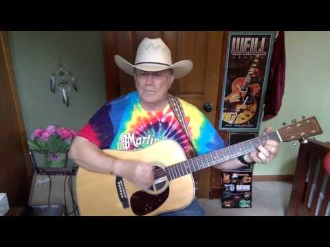 2091 -  Wild And Blue -  John Anderson vocal & acoustic guitar cover & chords