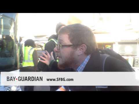 Union organizer impersonates Google employee, shouts down SF protesters