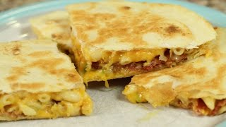 Macaroni And Cheese Quesadilla By Rockin Robin