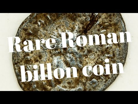 Rare Roman Coin - Metal detecting with Mal & CTX at the Paddocks Farm 9th March 2017