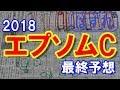 エプソムカップ 2018 最終予想 【競馬予想 エプソムC】