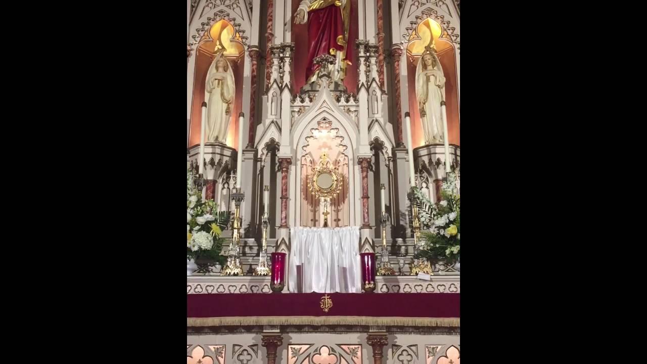 Holy Eucharist adoration 1:13