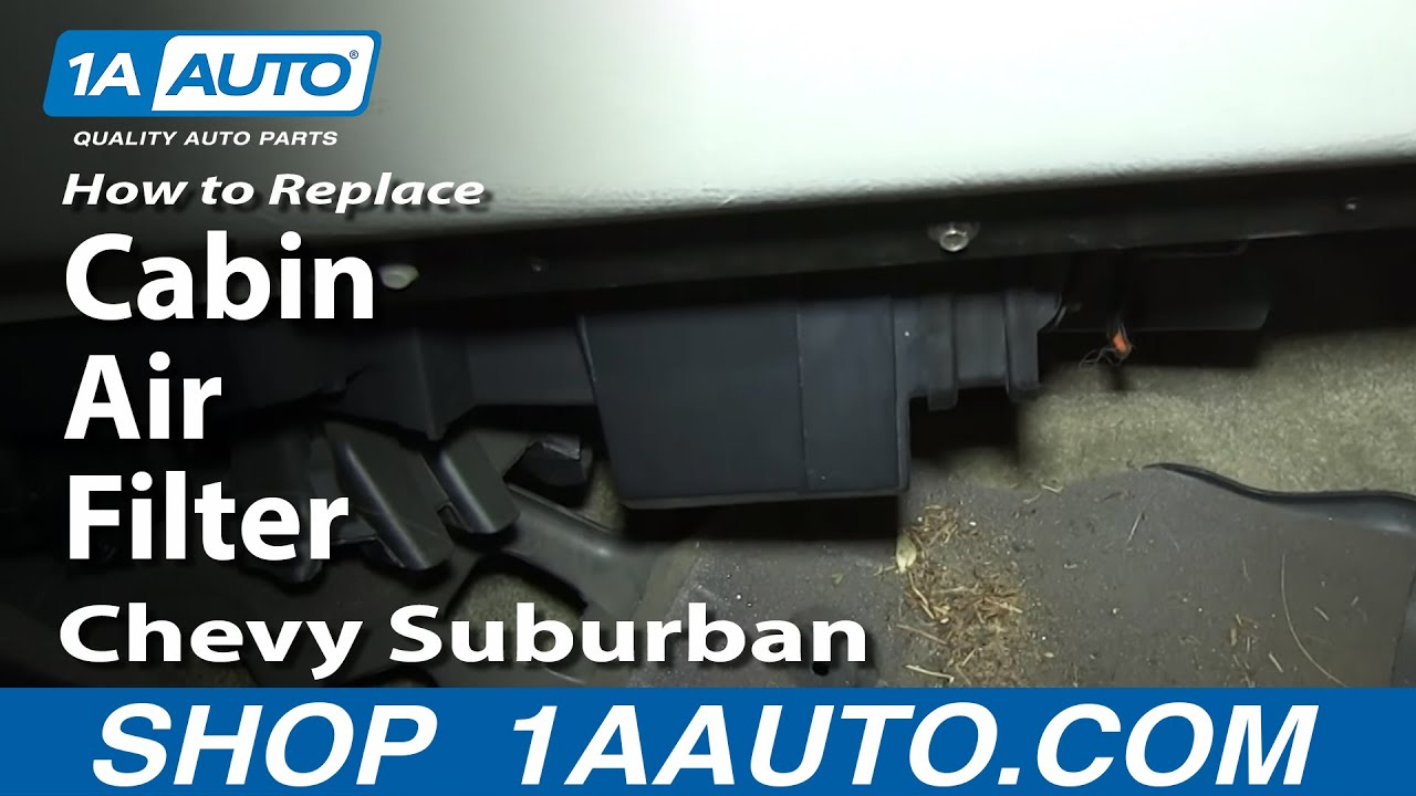 02 Chevy Trailblazer Fuse Box How To Install Replace Cabin Air Filter 2000 02 Chevy