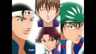 Prince of tennis Ryoma echizen zero shiki drop shot..