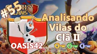 Clash of Clans HD Parte 55 - Centro de Vila 8 (CV8): Analisando Vilas do Clã II