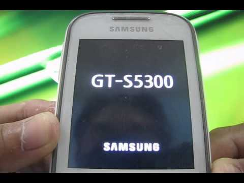 How To Reset A Samsung GT-S5300 (Galaxy Pocket)