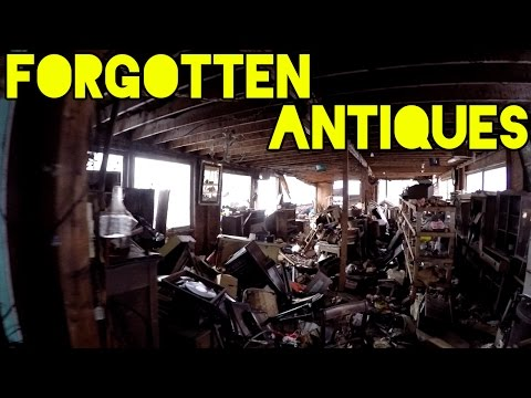 Exploring an Abandoned Antique Store