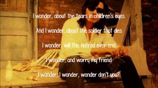 Sixto Rodriguez - I Wonder (Lyrics)