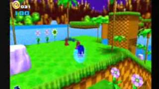 Sonic Adventure 2 - Green Hill Zone (A-rank)
