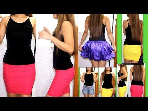 Fashion Haul Sexy Mini Skirts Dresses
