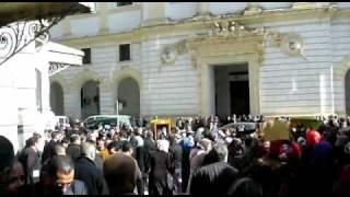 موظفو العدالة معتصمون أمام محكمة سيدي محمد يوم  : 22-02-2011