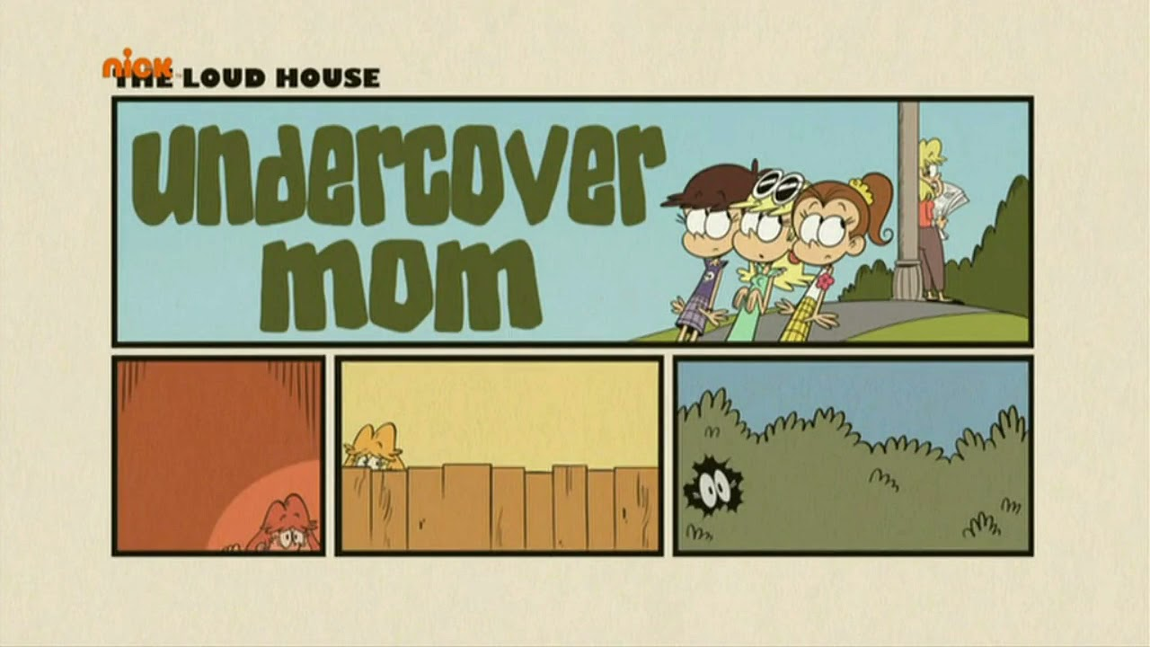 The Loud House: Silence of the Luans/Undercover Mom Title Card (Russian)