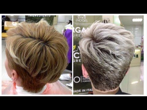 Осветление коротких волос: окрашивание блонд // Bleaching Short Hair