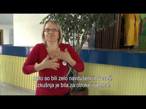 Delavnice gluhih in naglušnih učencev ob mednarodnem dnevu gluhih