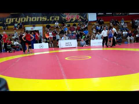 2015 Canada Cup: 53 kg Josee Tremblay (CAN) vs. Madison Parks (CAN)