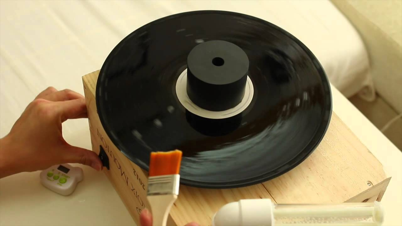 DIY vinyl washing machine 自制黑膠洗碟機 - YouTube