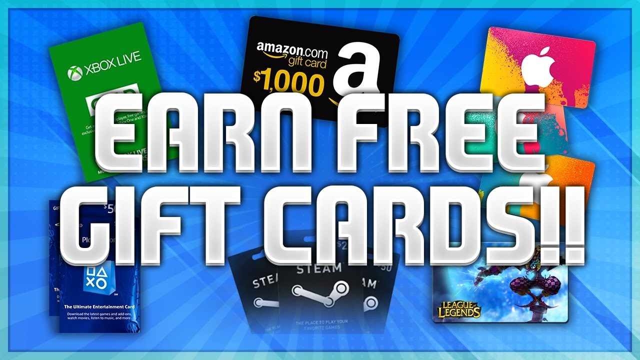 best way to get free gift cards 2017