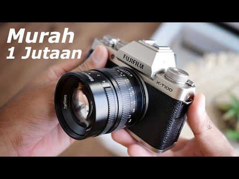 Review Fujifilm xt100 + 7artisans 55mm f1.4 Hasil Foto dan Video