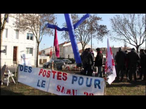 Grève Assistantes de régulation médicales, CHU Bordeaux Pellegrin