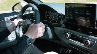 Audi a4 2020 Test drive hightech car