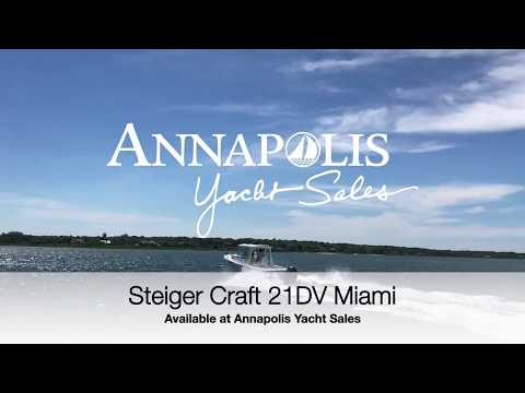 New 21DV Steiger Craft Miami at Play - by Annapolis Yacht Sales