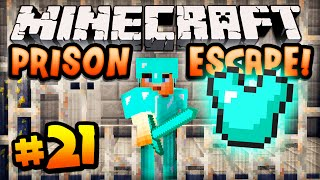 "Minecraft PRISON ESCAPE - Episode #21 w/ Ali-A! - ""SHARING STUFF!"""
