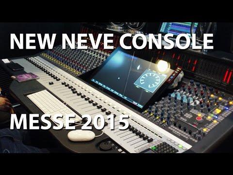 AMS Neve Genesys Black G32 Analogue Digital Recording Console Music Messe 2015 tonymckenziecom