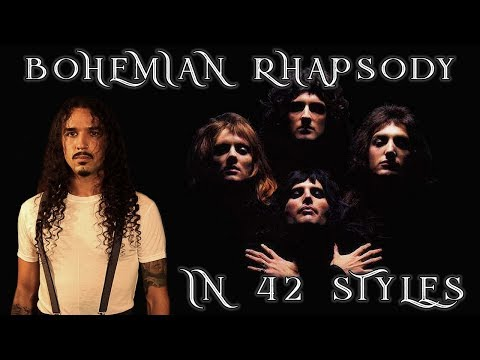 Marc 'The Cope' Coppola - 42 Styles In A Row For, Bohemian Rhapsody!