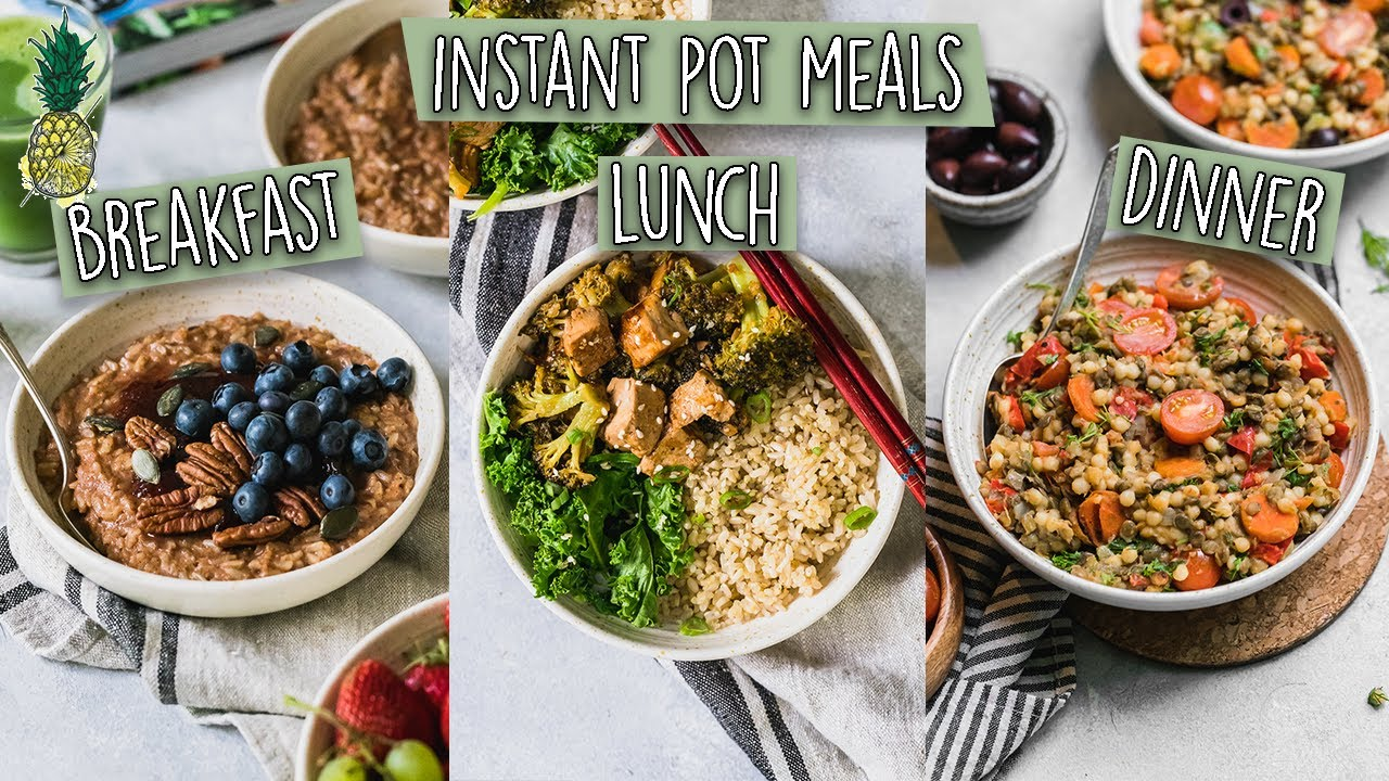 Easy Vegan Instant Pot Meals + Cookbook Giveaway!