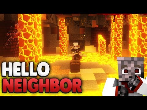 NACHBAR TÖTEN oder RETTEN ?!😰  | Minecraft Hello Neighbor