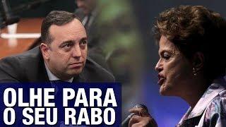 Deputado humilha Dilma após ela entrar com ação para anular impeachment: 'Cara de pau, não..