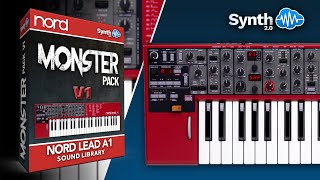 Nord Lead A1 Monster Pack By Leadsounds ( Space4Keys Keyboard Solo )