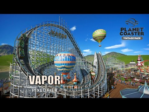 Vapor [Wooden Coaster] - Vintage Pack | Planet Coaster