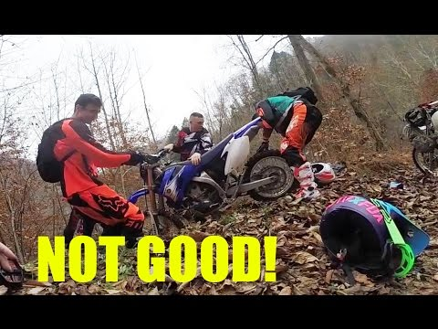 I thought she DIED...scariest moment dirtbiking
