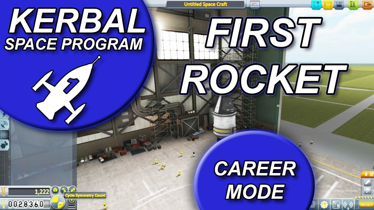 Kerbal Space Program - First Rocket Building Guide - (KSP ...