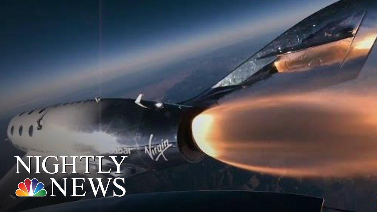 Virgin Galactic Rocket Test Flight Marks Major Step Toward Space Tourism