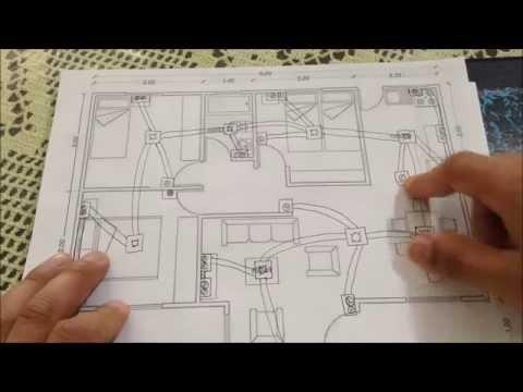 Instalacion electrica de una casa 1 7 instalaciones for Plano instalacion electrica