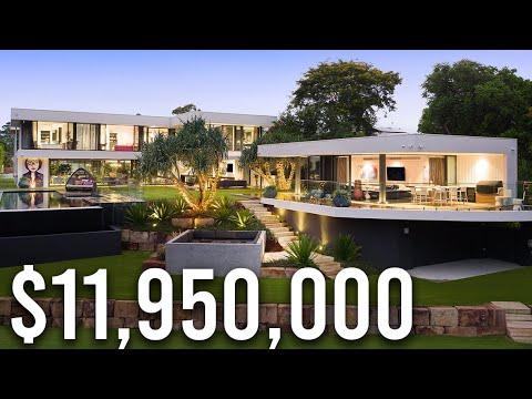 Amazing $11,950,000 Australian Waterfront Mansion