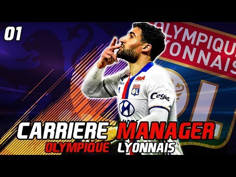 FIFA 18 | CARRIERE MANAGER LYON | #01 : NOS GRANDS DEBUTS A L'OL !!!